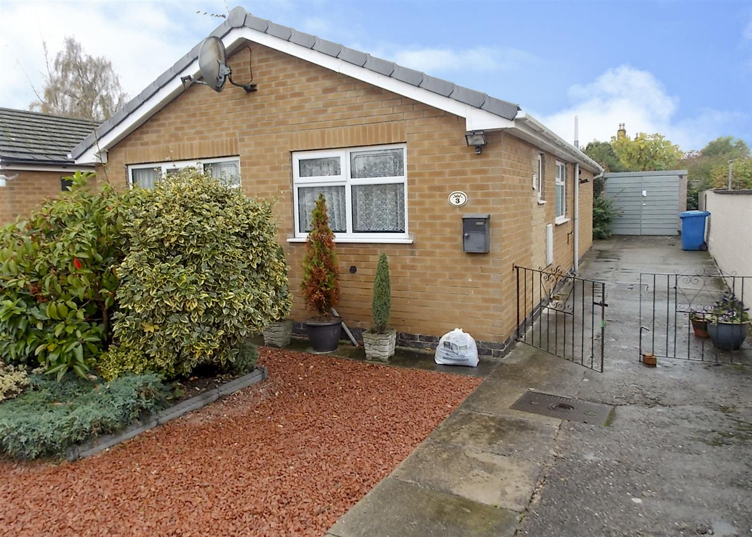 2 Bedrooms Detached Bungalow for sale in Mills Close, Draycott